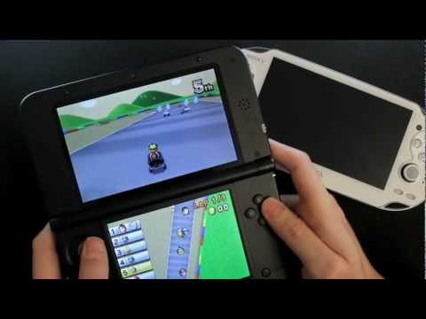 Nintendo 3DS XL - Mario Kart 7 Gameplay - Online World Multiplayer Race HD