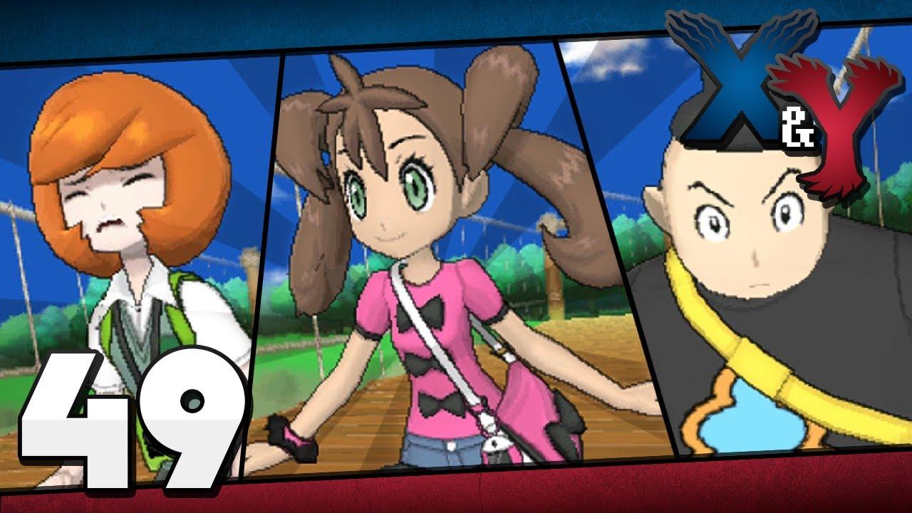 Pokémon Y vs PKMN Trainer Shauna (2), Tierno (3) & Trevor