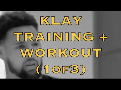 IG mix [9:16]: Bearded Klay Thompson training + workout, Summer 2018 (1of3) at Stance Hoops