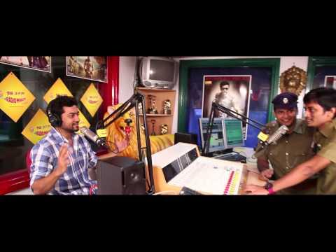 Surya at Radio Mirchi Studios for Singam II Launch!