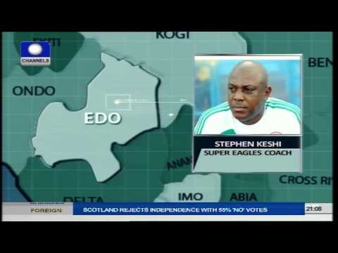 Stephen Keshi Speaks On Sports Tonight