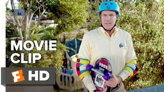 Daddy's Home Movie CLIP - Skateboarding (2015) - Will Ferrell, Mark Wahlberg Movie HD