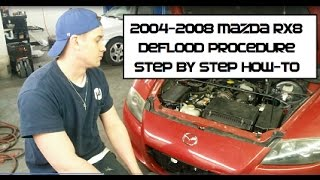 Download How to start a flooded Mazda RX8 Unflood, Deflooding Procedure RX-8 3Gp Mp4