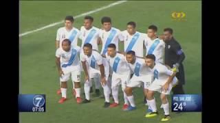 En un emocionante partido Selección de Guatemala goleó a Cuba