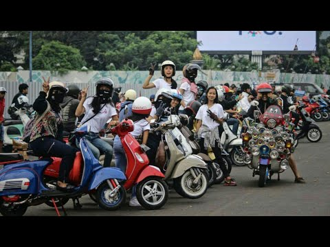 Goes to NGEPREZ 2017; SUNMORI with Dunia Scooter Magazine