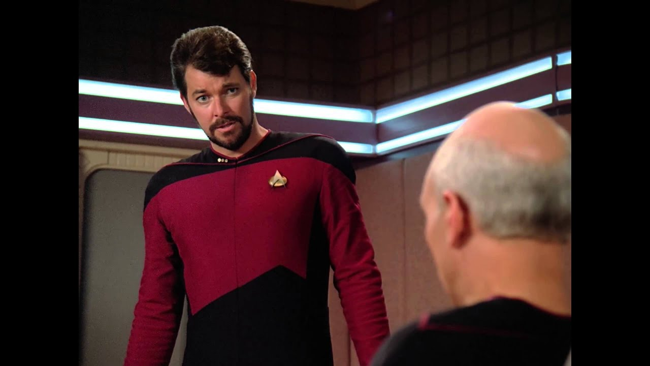Picard Make Picard to Riker Make it so