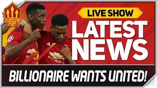 Man Utd Up For Sale! Man Utd News