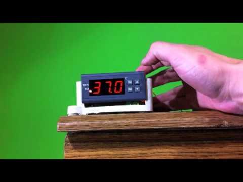 Controlador de temperatura aquario