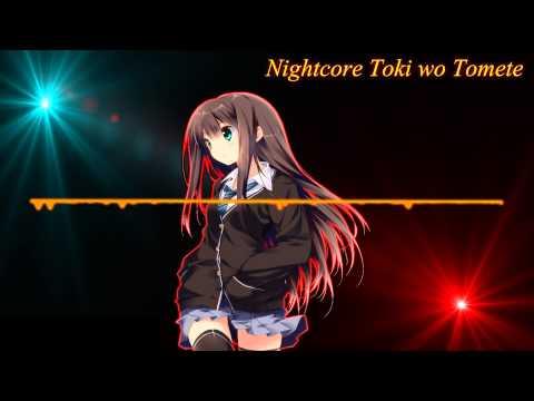 Nightcore - Toki wo Tomete - Tiara feat. WISE /Lyrics