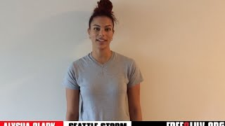 Anti-Bullying PSA with Seattle Storm's Alysha Clark