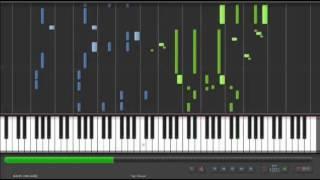 【ピアノ楽譜】(Piano Sheet Music)After the Rain - アンチクロックワイズ(Anticlockwise) (「クロックワーク・プラネ�
