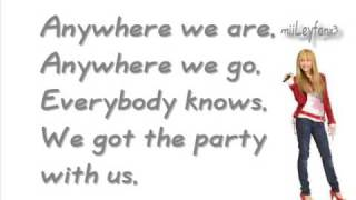 Watch Hannah Montana We Got The Party (With Us) video