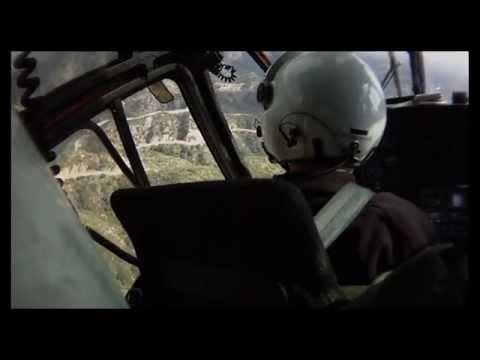 LASD Air-5 Helicopter Cliff Rescue of 19-yr old So.Pasadena Woman above Altadena.