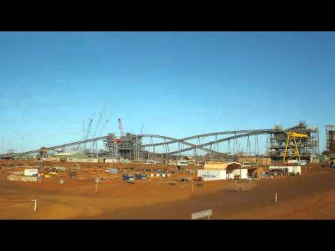 Fortescue Metals Group (FMG) timelapse footage from Christmas Creek