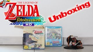 Unboxing: The Legend of Zelda The Wind Waker HD Limited Edition inklusive Ganondorf Figur