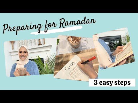 Preparing for RAMADAN | 3 EASY + Practical Steps - YouTube