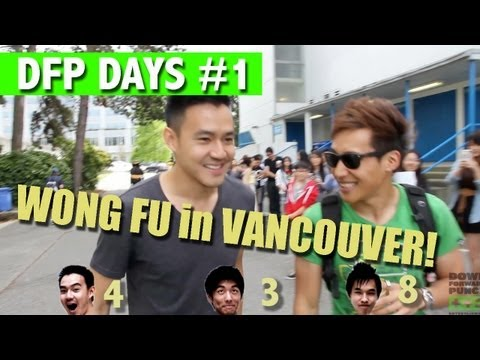 Wong Fu Productions & Yuri Tag come to Vancouver 2013! (DFP Weekend Ep. 1)