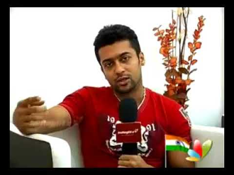 Surya about his 6pack