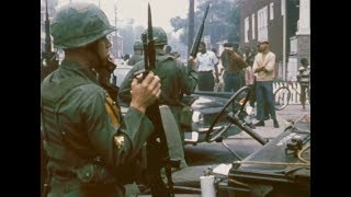 1967 Detroit Riots WXYZ-TV Documentary Clip