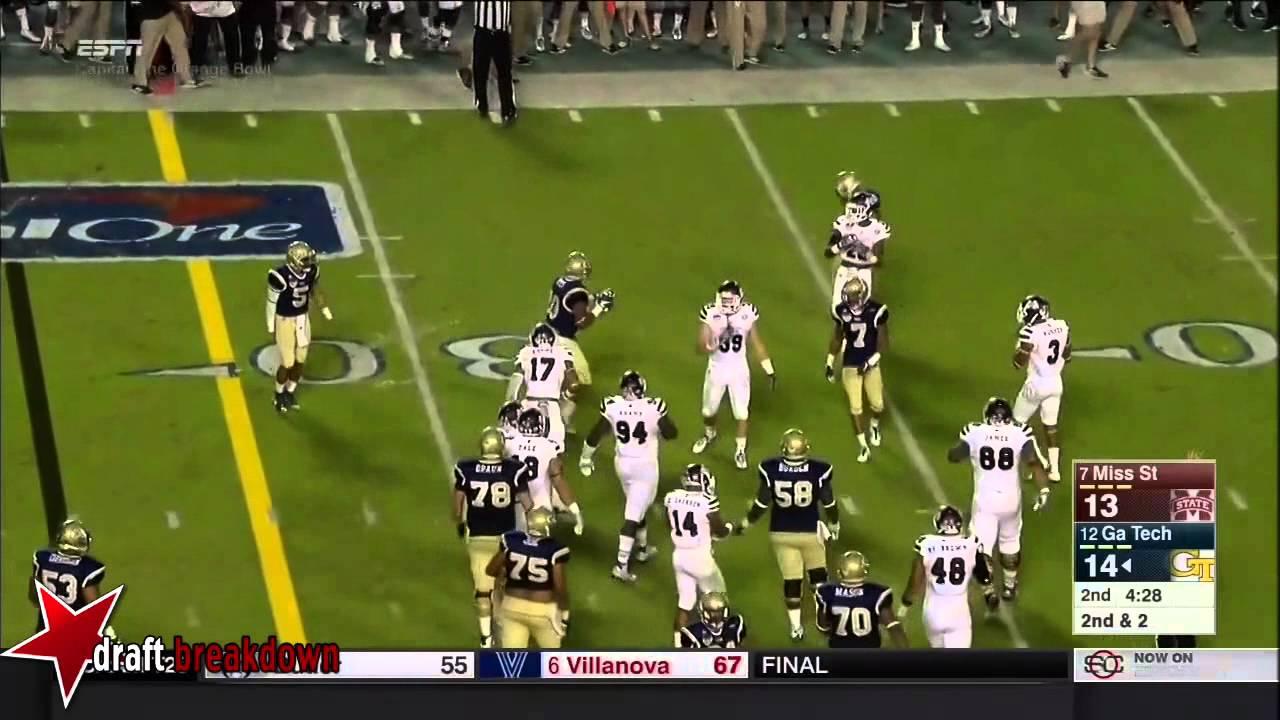 Darren Waller vs Mississippi State (2014)