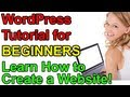 WordPress Tutorial for Beginners - Make a Website!