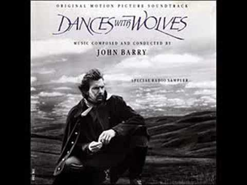 john barry dances with wolves john dunbar theme song