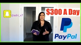 How To Make Money With Paypal - Make Money Online Fast With Paypal $300 A Day!