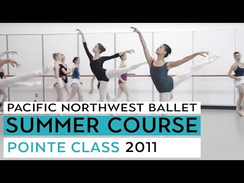 PNB's Summer Course 2011-Level VII Pointe Music Videos