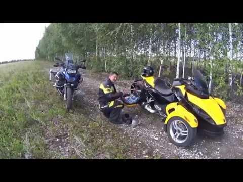 BRP Can-am Spyder на Южном Урале.