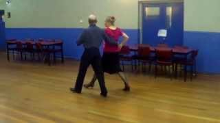 Burgundy Tango Sequence Dance