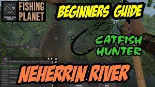 Fishing Planet - Neherrin River - Flathead Catfish, Gar, Largemouth Bass (2017)