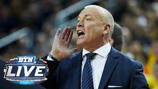 Pat Chambers on the Upset of Michigan   Penn State   Big Ten Basketball