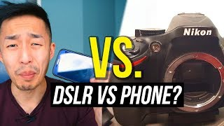 NIKON D5200 VS. SAMSUNG GALAXY S6 (DSLR VS SMARTPHONE Comparison)
