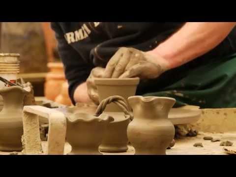 Dimostrazione di cottura con BBQ Weber e maestro tornitore vasi