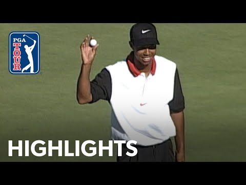 Tiger Woods' 1st PGA TOUR win | Extended Highlights | 1996 Las Vegas 2019