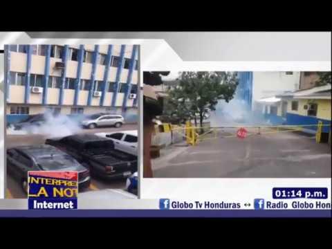 💥🔥Policía Nacional de Honduras y Cuerpos de Élites se Rebelan a JOH - - GLOBO TV / UNE TV