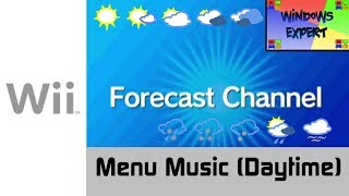 NINTENDO WII MUSIC - FORECAST CHANNEL MENU DAYTIME
