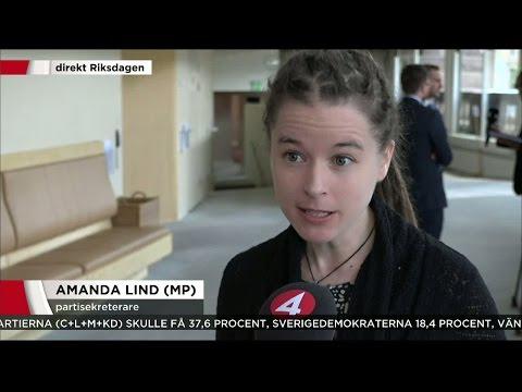 """""""Vi kommer att stärka våra siffror framåt valet"""" - Nyheterna (TV4)"""