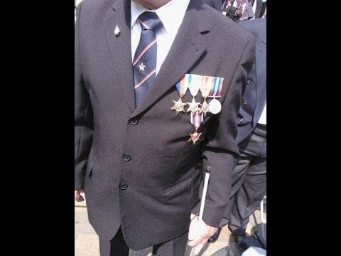 The presentation of the Arctic Star to the WW2 Vetrians at guildhall in portsmouth, 27th June 2013.