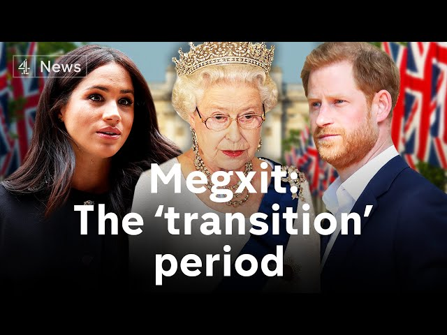 Meghan & Harry: Queen agrees 'period of transition' after crisis meeting thumbnail