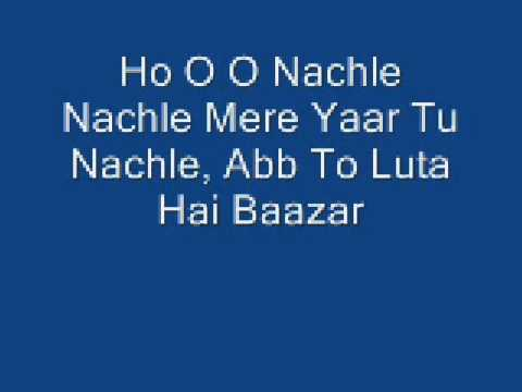 Aaja Nachle Lyrics video
