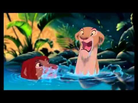 lion l amour brille sous