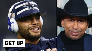 Stephen A. gloats after the Cowboys' loss | Get Up