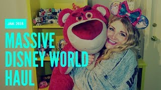 MASSIVE DISNEY WORLD HAUL!!! January 2018