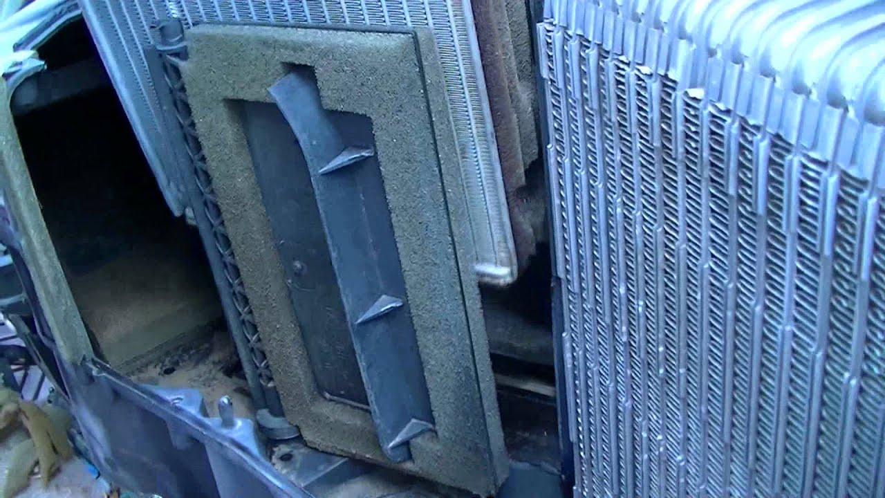 2008 Ford F150 >> F-150 heater core removal - YouTube