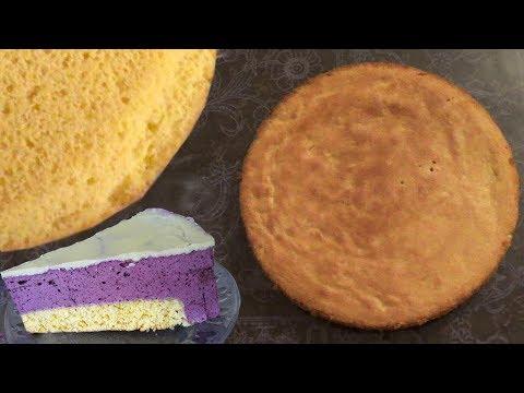 Бисквит НА ЖЕЛТКАХ, пышный, эластичный, вкусный.