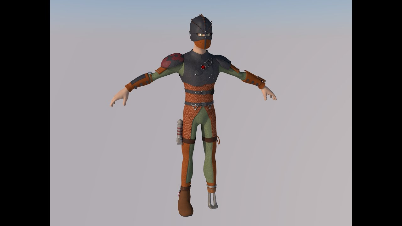 Hiccup From How To Train Your Dragon 2 3d Model V1 Youtube