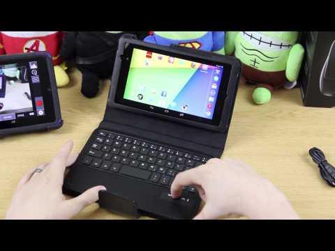 MiniSuit Keyboard Stand Case for Google Nexus 7 FHD 2nd Gen (2013)
