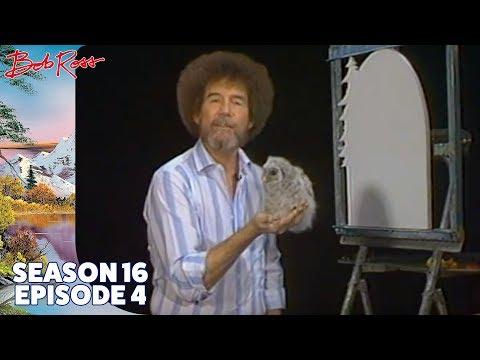 Bob Ross - Mountain Mirage Wood Shape (Season 16 Episode 4)