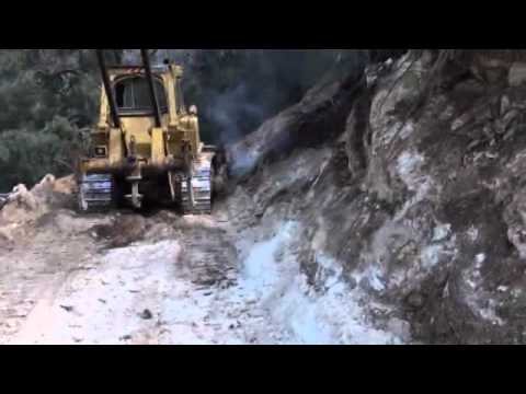 CAT D7G Road Building Warrumbungles